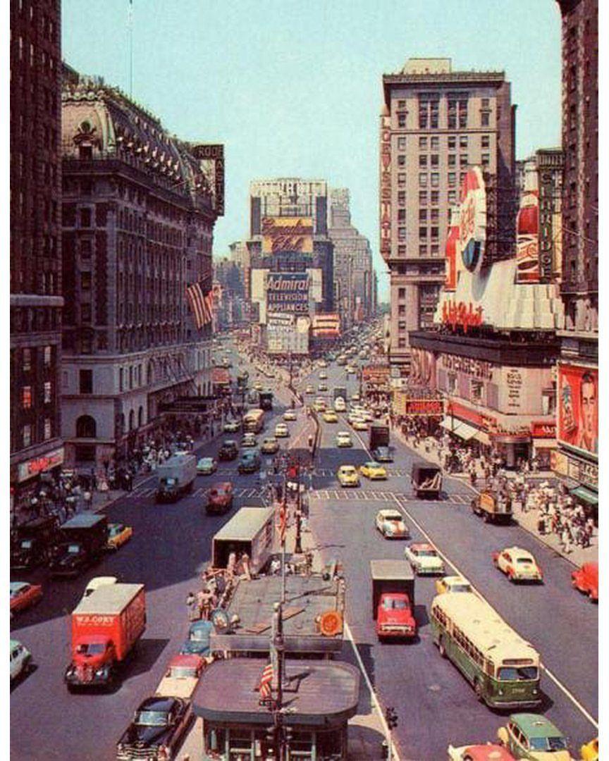 manhattan 1955 ny nycity newyork newyorkcity