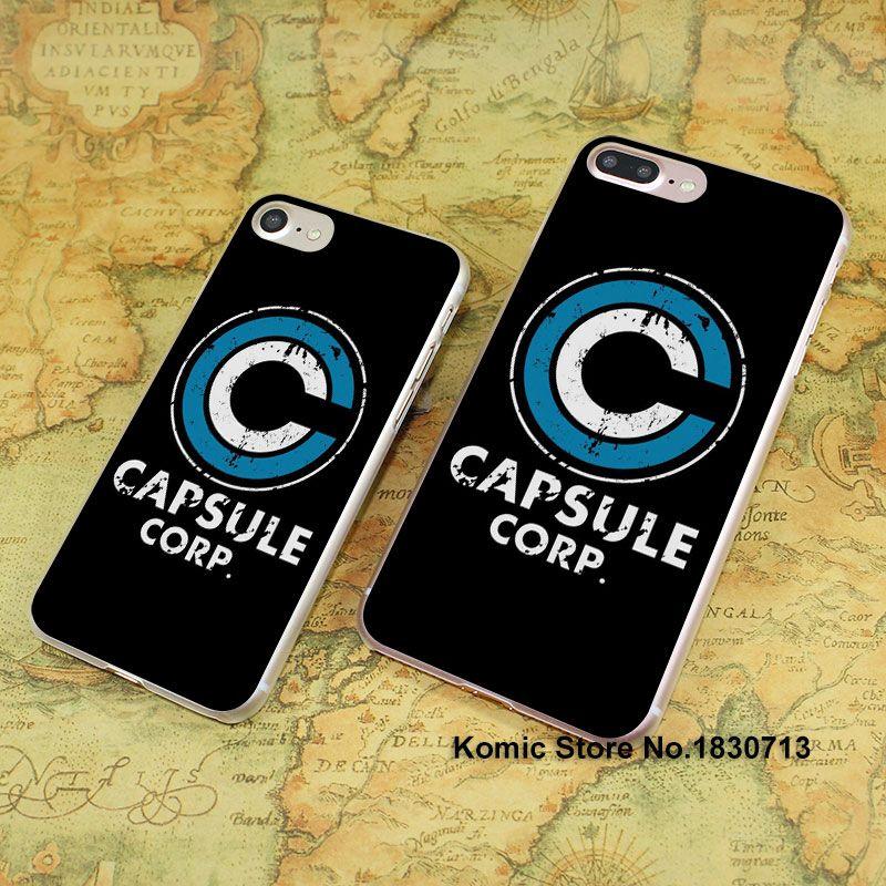 Dragon Ball Z Capsule Corp Logo Metal iphone case
