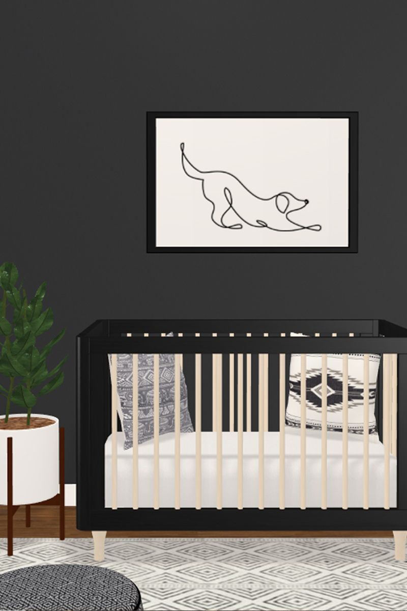 Love That Wall Print See The Whole Nursery Or Design Your