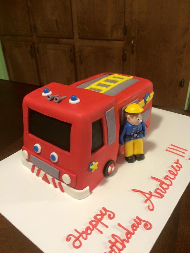 3d Fireman Sam Cake By Bake It To The Limit In Tuscaloosa Al