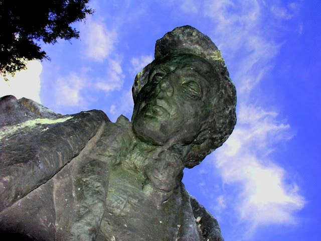 Chopin monument, Zelazowa Wola, Poland