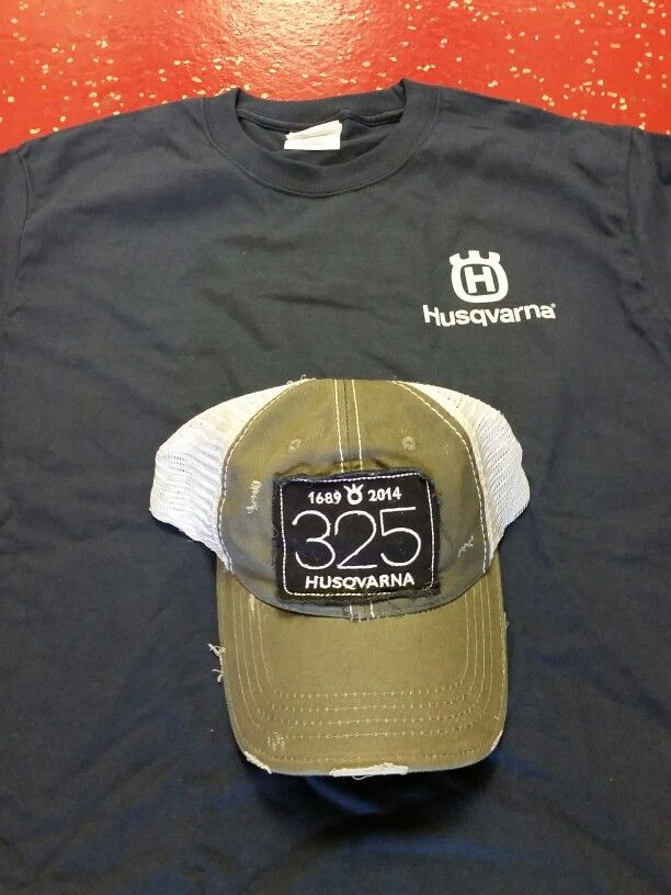 82c911c3628 Husqvarna T-shirt and Baseball Cap