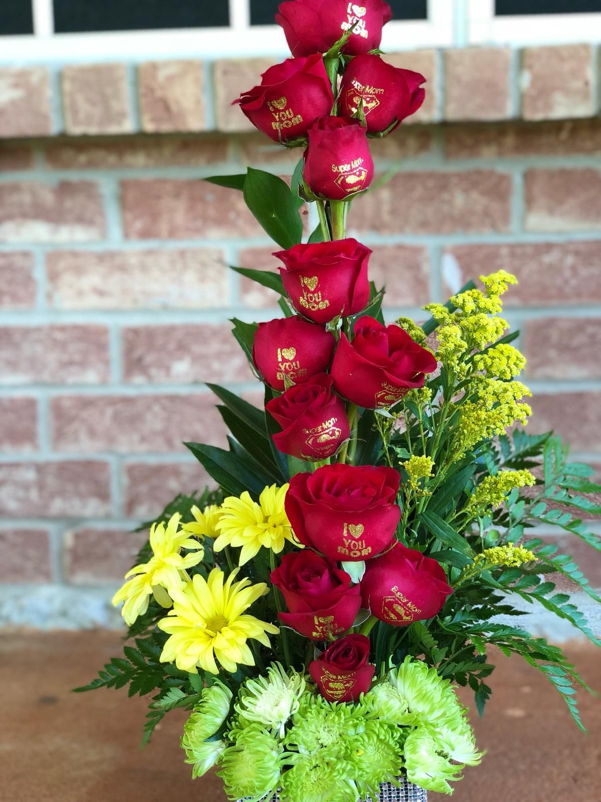 Happy Mother S Day Arrangement Surprise Your Mom With