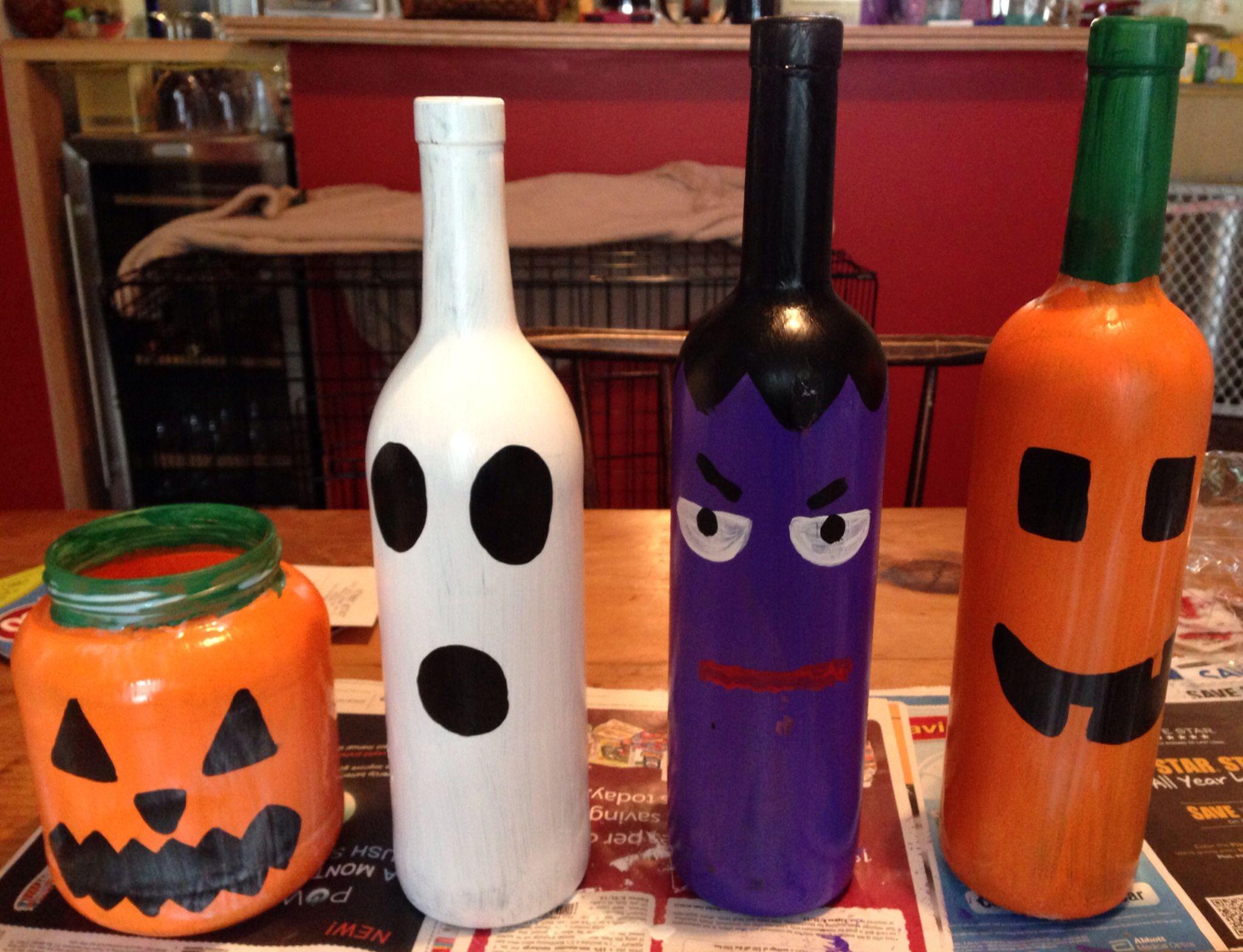Halloween Wine Bottles Halloween Wine Bottles Halloween Wine Bottles Decoration