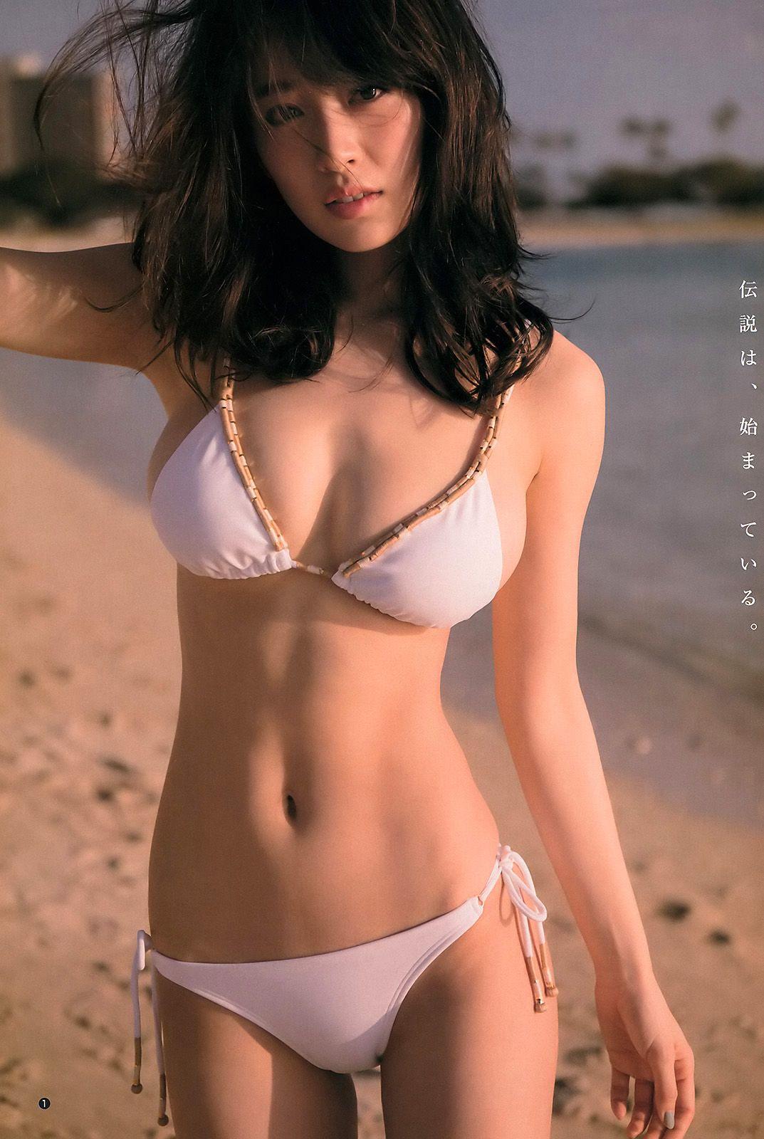 이즈미 리카 いずみりか 泉里香 Izumi Rika Young Jump 20 2017 4