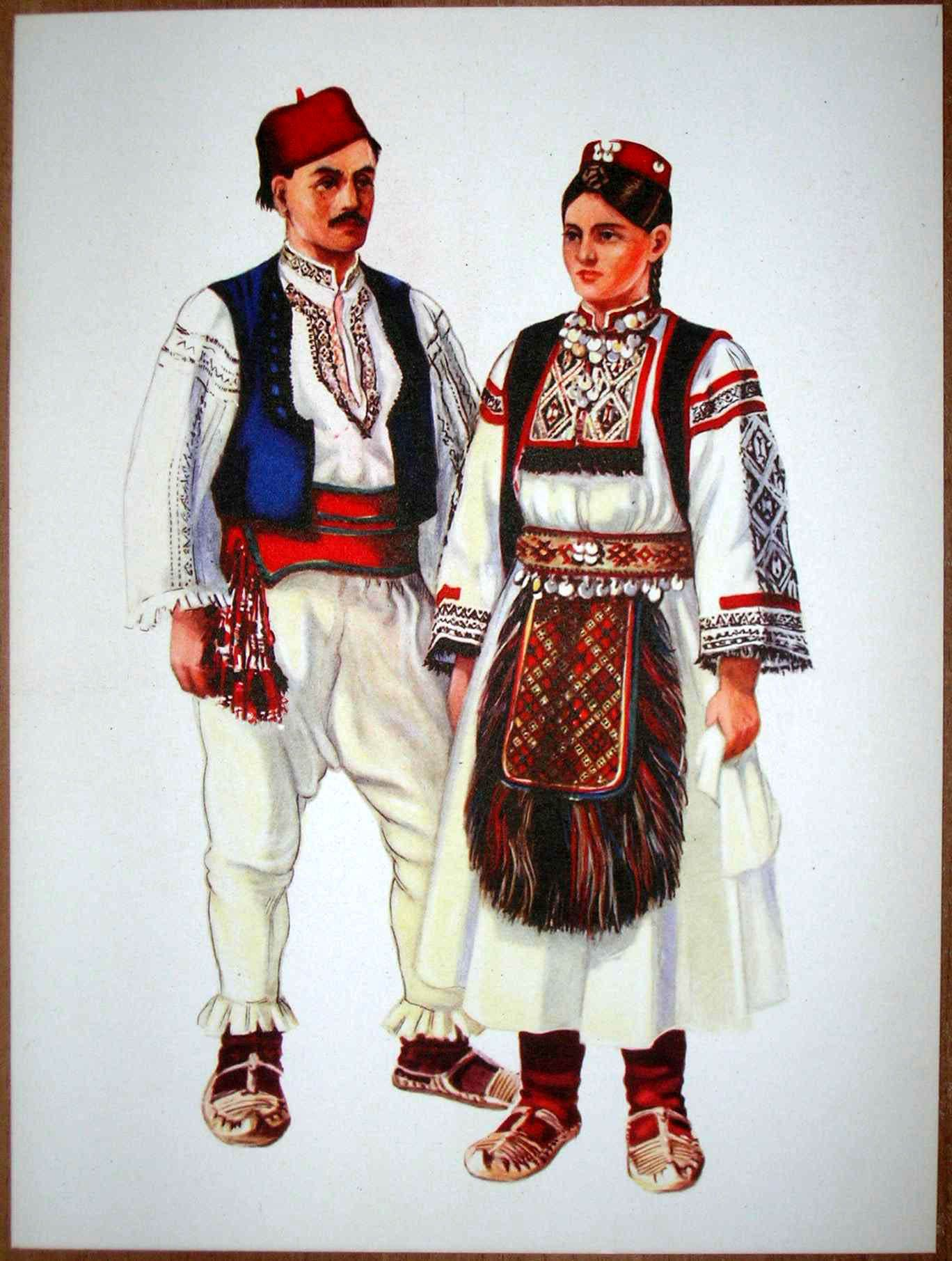 Bosnia Folk Costume Rekavica