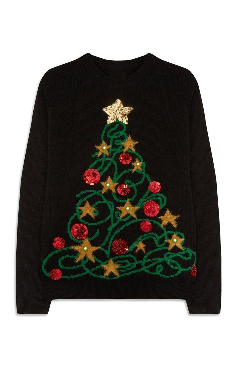 9 Christmas Tree Tumblr Lights In 2020 Christmas Jumper Day Primark Christmas Christmas Jumpers