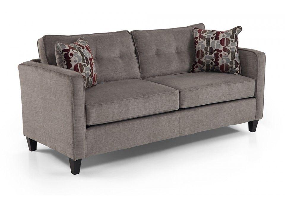 Value City Furniture Alexandria Va: Clayton Gray Studio Size Sofa