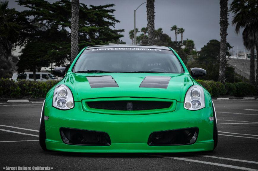 Cung Pham's Shrek G35 Stance nation, Shrek, Sports car