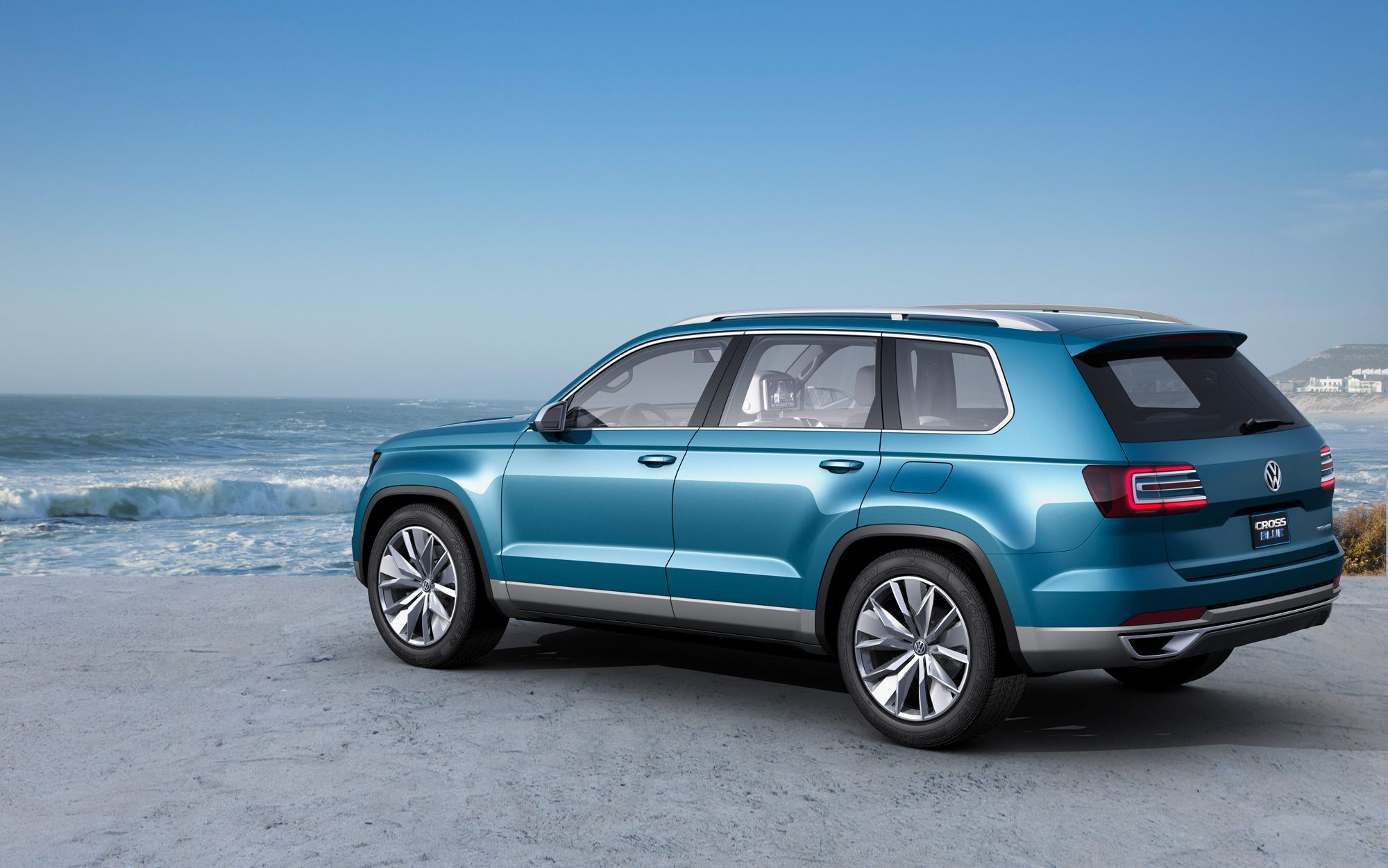 VW CrossBlue Concept car release date (With images) Suv