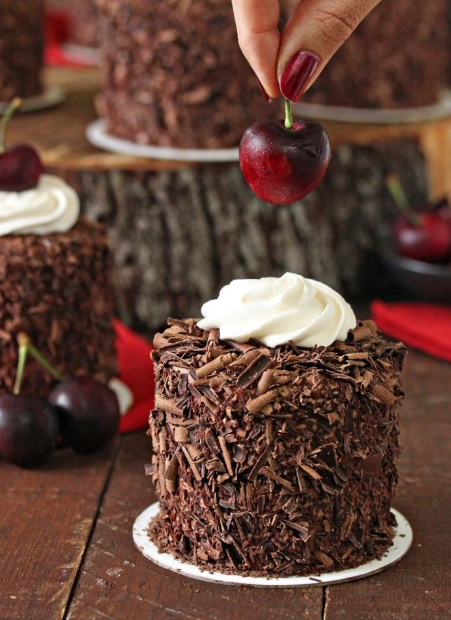 Resep Dan Cara Membuat Kue Black Forest Mini Yang Mudah