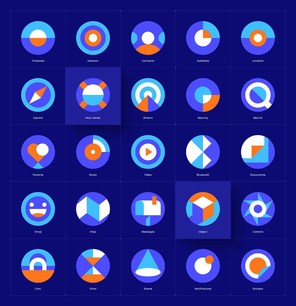 Behance 为您呈现 Icon Design Inspiration Simple Icon Icon Design