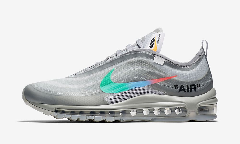 Off White X Nike Air Max 97 </p>                     </div> 		  <!--bof Product URL --> 										<!--eof Product URL --> 					<!--bof Quantity Discounts table --> 											<!--eof Quantity Discounts table --> 				</div> 				                       			</dd> 						<dt class=