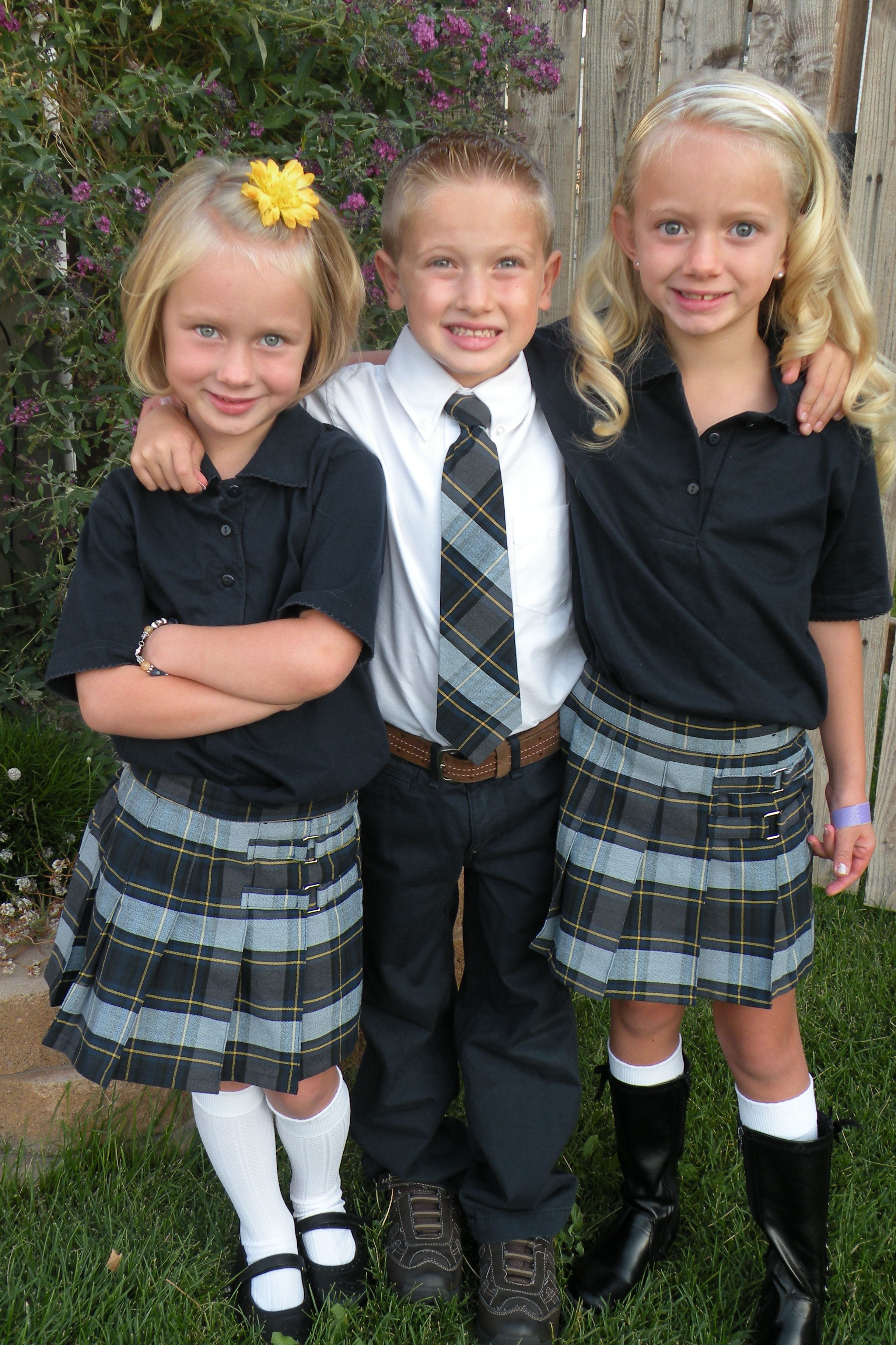 4b99a33782 School Uniforms Look Good!  French Toast Review and Giveaway ...