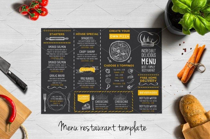 Well Layered Pizza Menu Design | Camila Restaurante MoodBoard ...