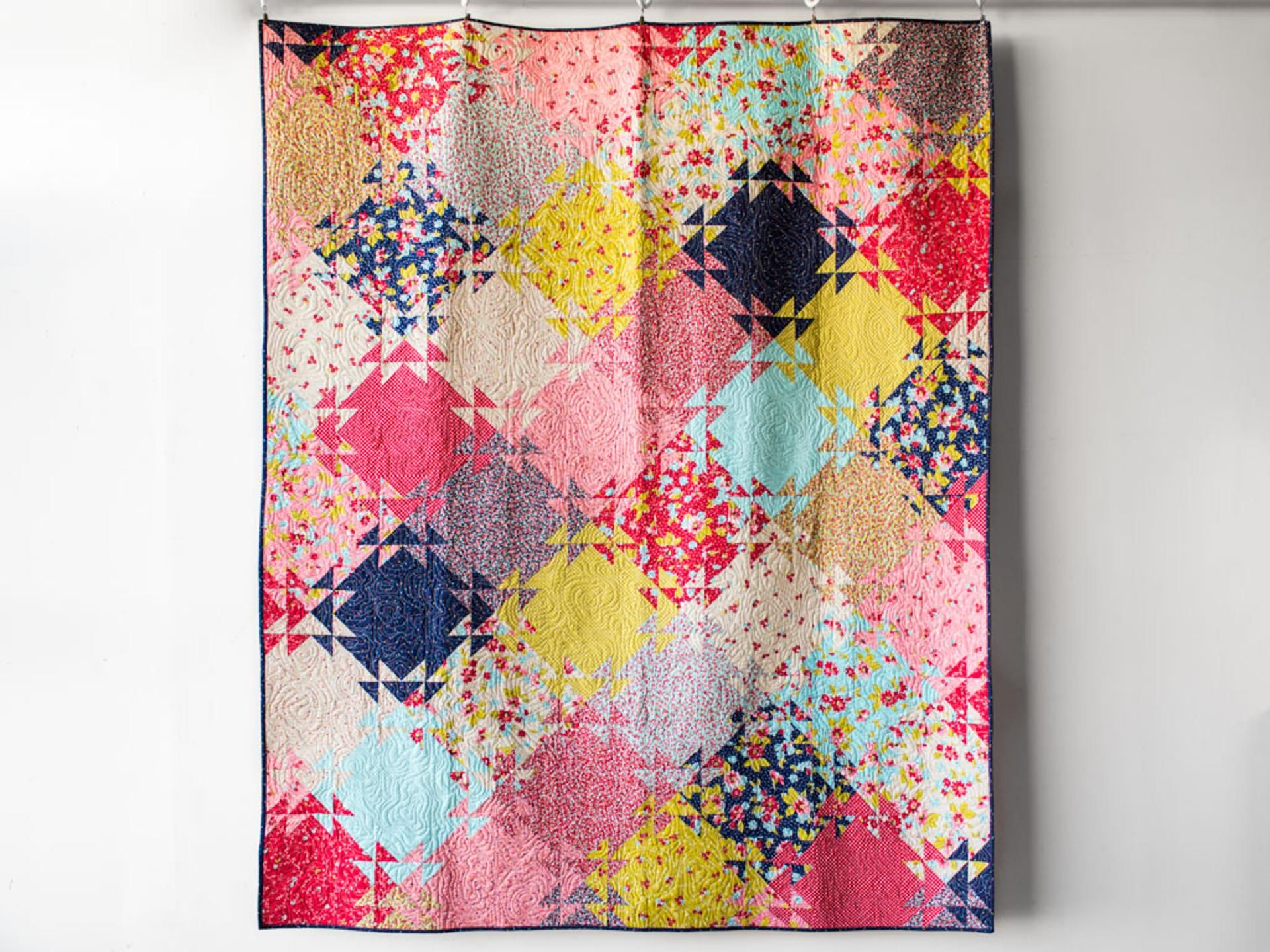 Mirage Quilt Kit By Janice Ryan Featuring Boundless Flower