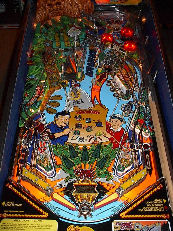 Bally Gilligan's Island Classic Arcade Pinball Machine