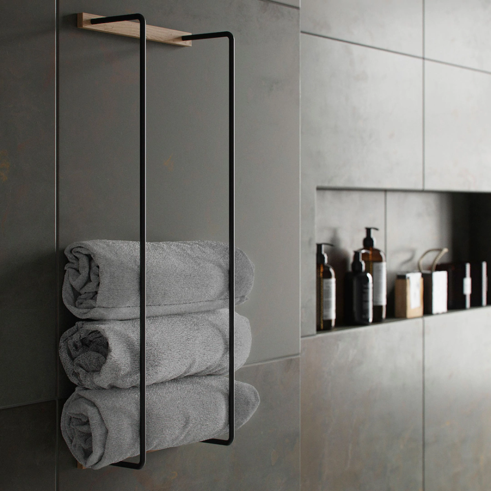 Towel rack - by Wirth @ RoyalDesign in 6  Hotel bathroom
