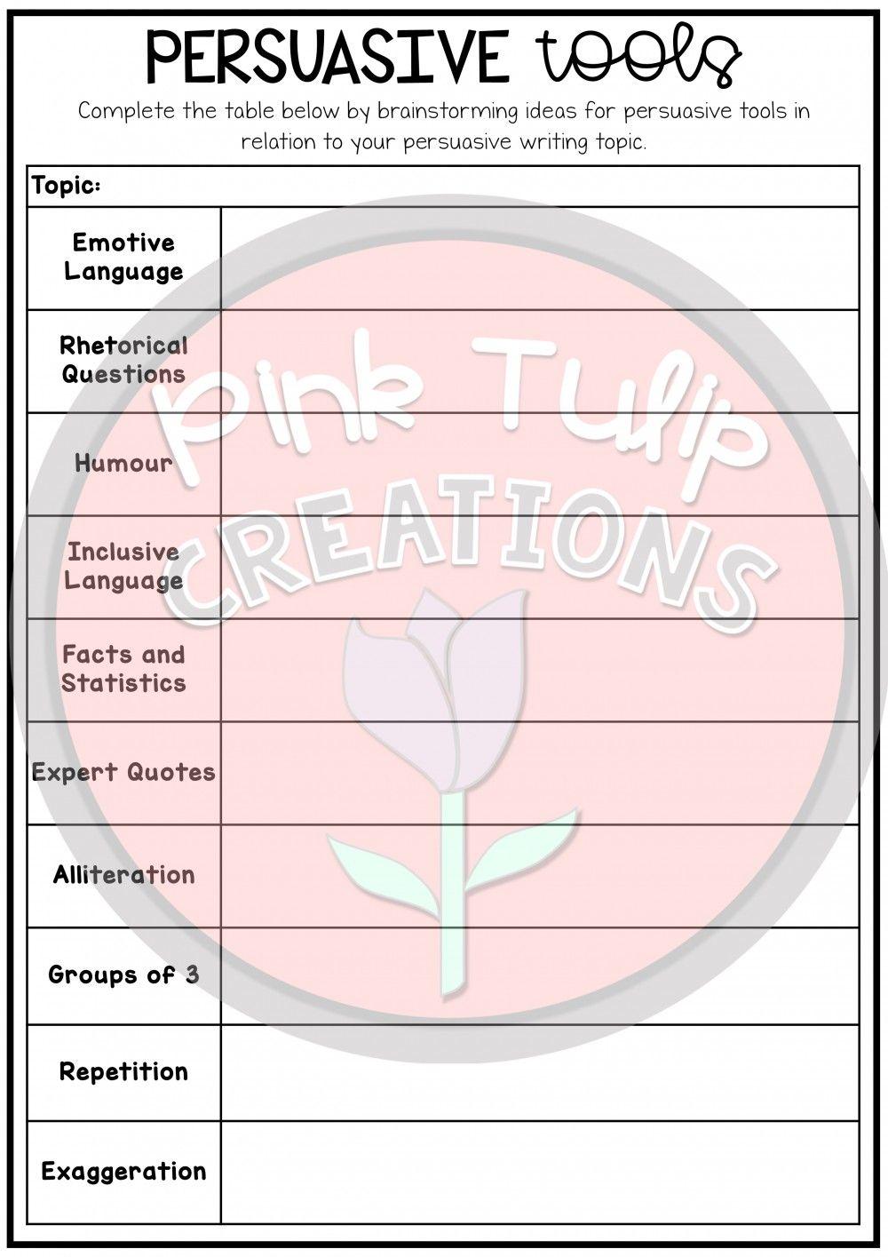 Persuasive Writing Worksheet Pack No Prep Lesson Ideas Persuasive Writing Writing Worksheets Writing Instruction