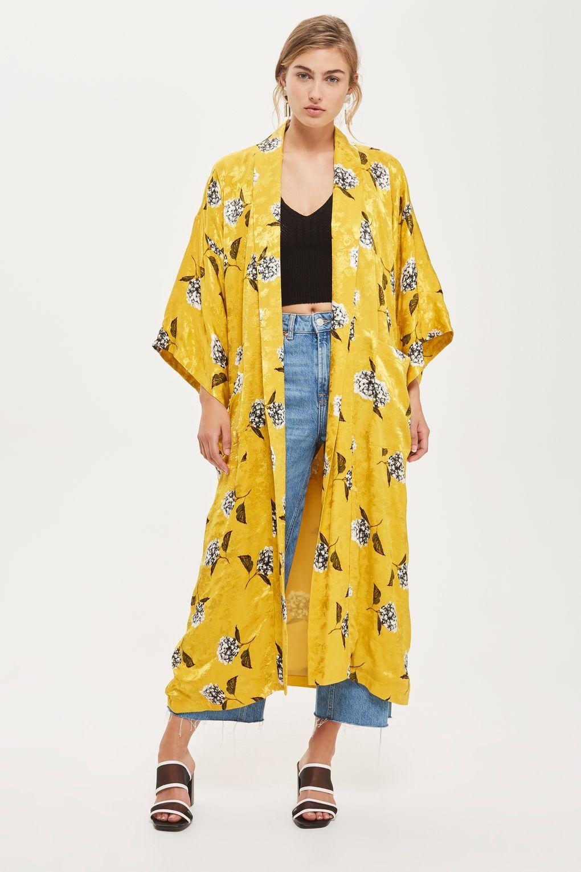 5e81524d9aa Image result for KIMONO. Floral Print Maxi Kimono Jacket ...