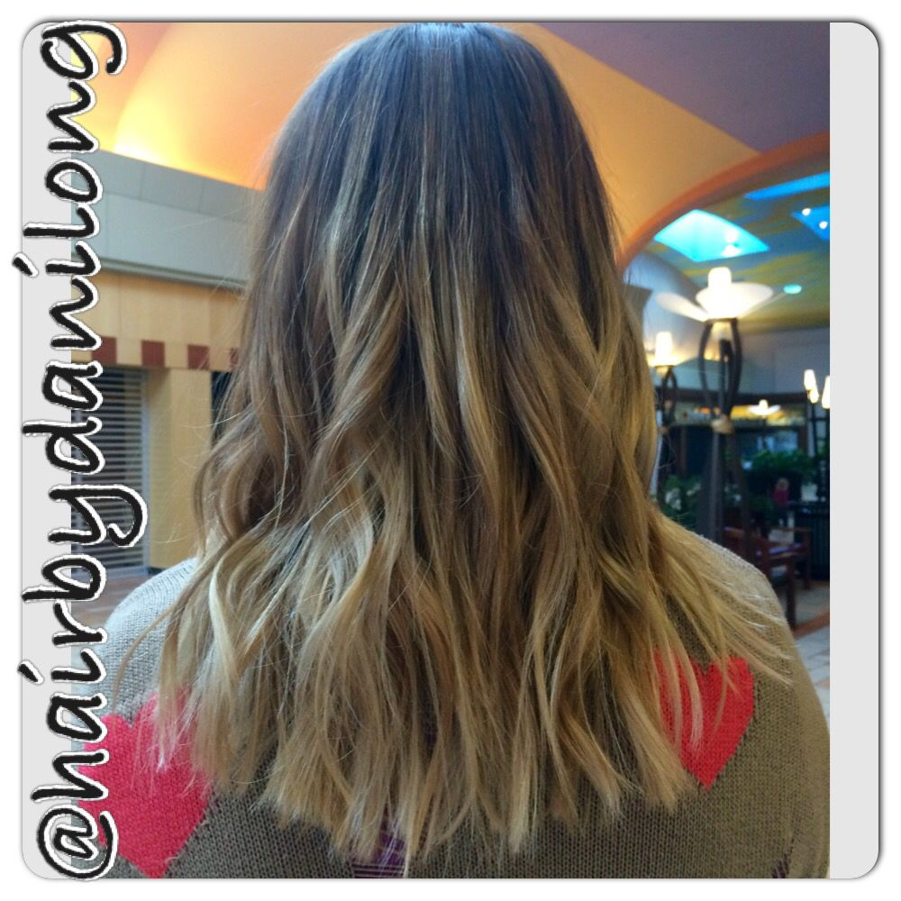 Blonde Balayage Ombre Hair Color Long Bob With Layers Haircut Orem Ut Long Hair Color Blonde Ombre Balayage Blonde Balayage