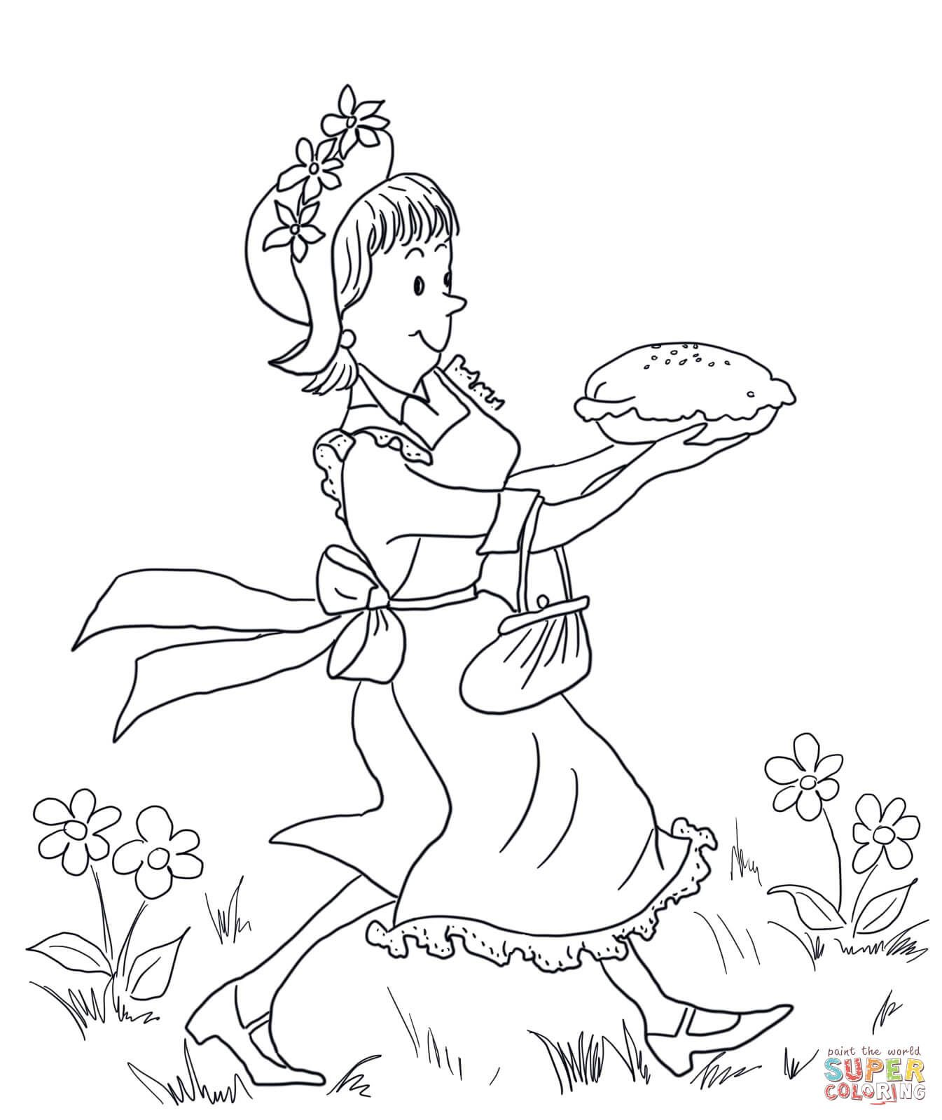 Amelia Bedelia Carrying Lemon Meringue Pie Super