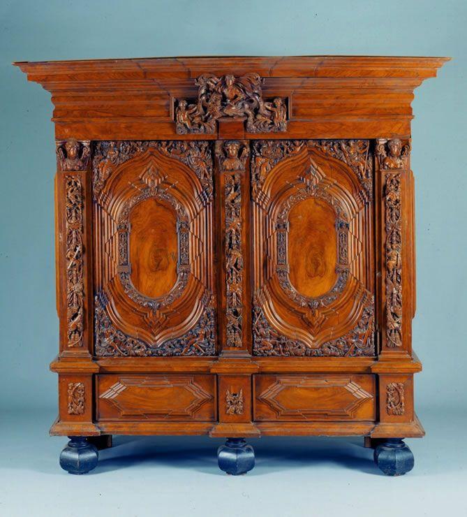 North German Baroque Two Door Cabinet Baroque Furniture Renaissance Furniture Antique Furniture