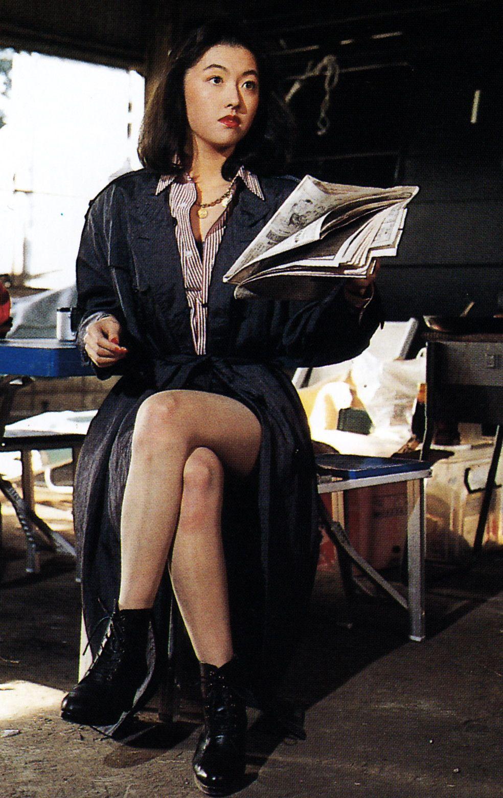 美杉沙羅 演 白鳥夕香 in ブルースワット 1994年 1995年 ブルース 美杉 特撮ヒロイン
