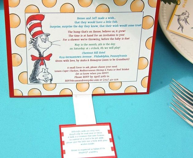 Dr Seuss Themed Baby Shower Part - 48: Dr. Seuss Themed Baby Shower {Guest Feature