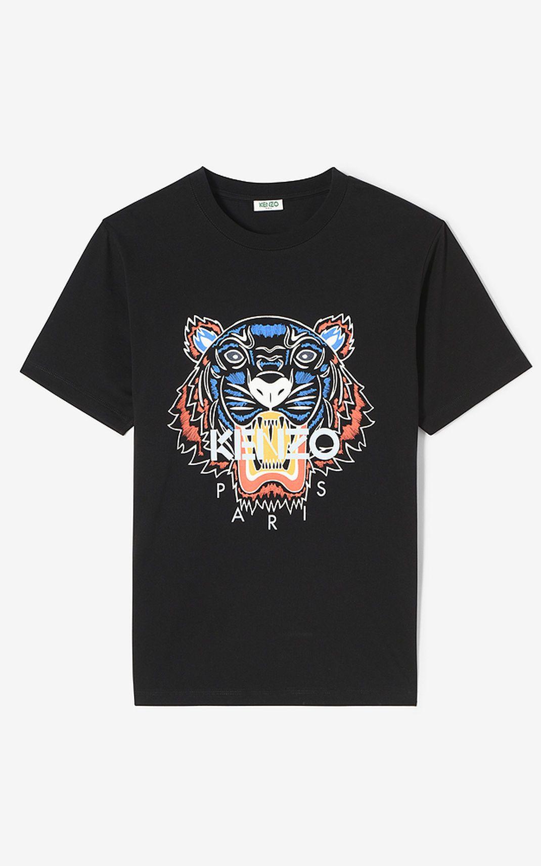 Black tiger tshirt for men kenzo kenzo pinterest kenzo and tigers
