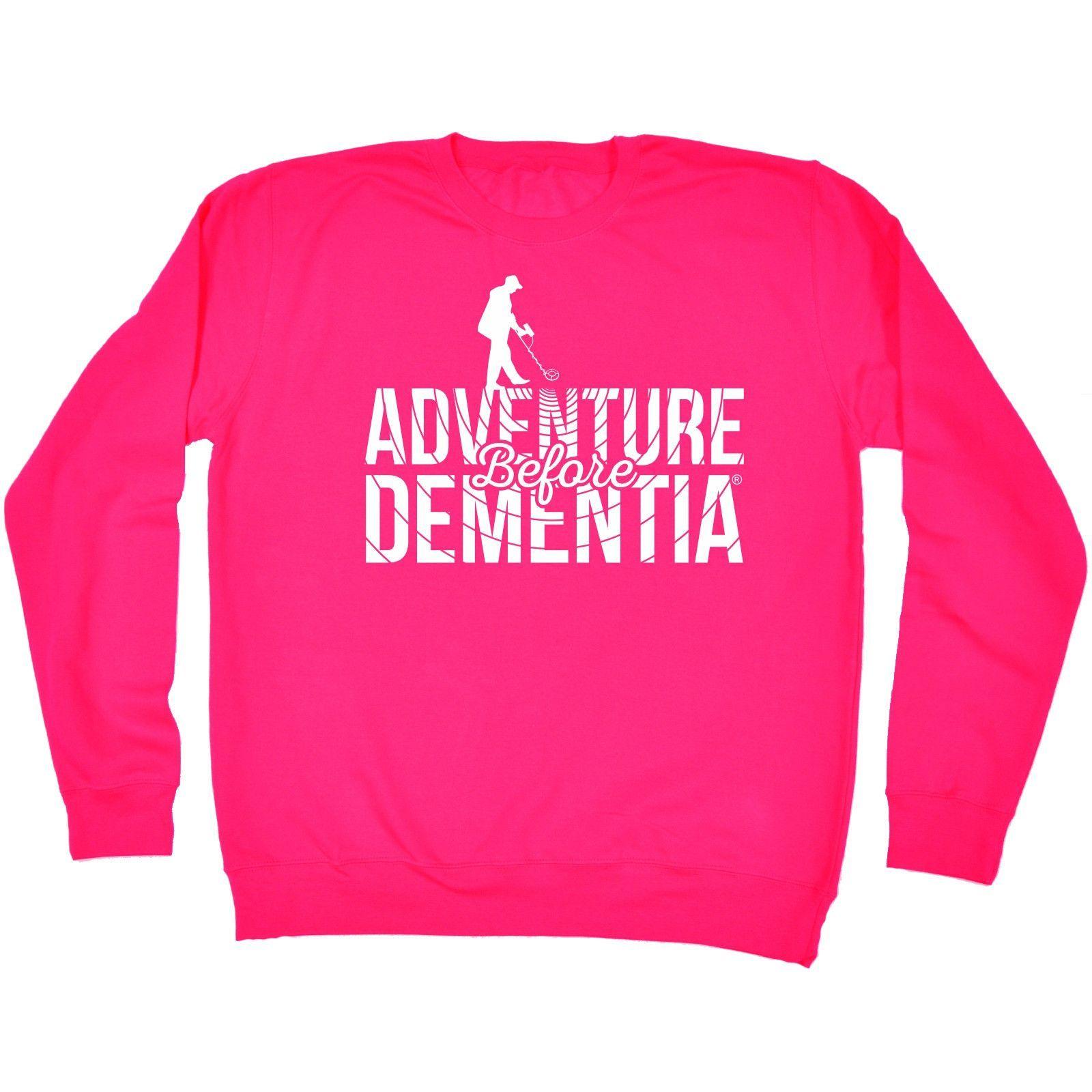 123t USA Adventure Before Dementia Metal Detector Funny Sweatshirt
