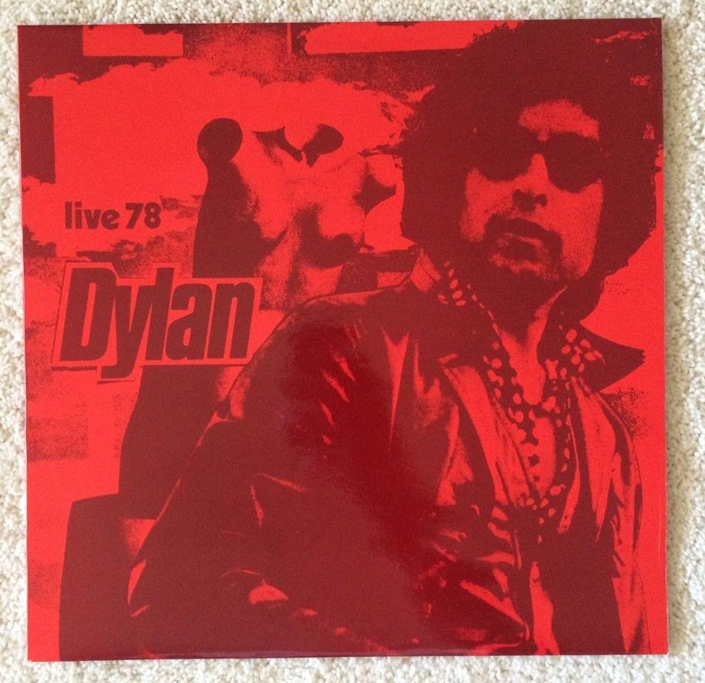 BOB DYLAN - LIVE 78 - RARE VINYL LP - TMOQ TAKRL EUROPEAN GERMAN