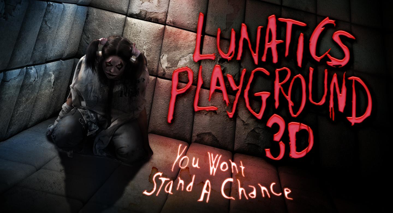 Lunatics 3D Asylum Halloween Horror Nights
