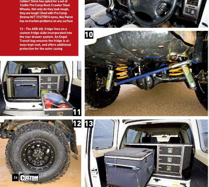 Nissan GU Patrol 'White Lightning' 4WD Custom Action Article - Snake