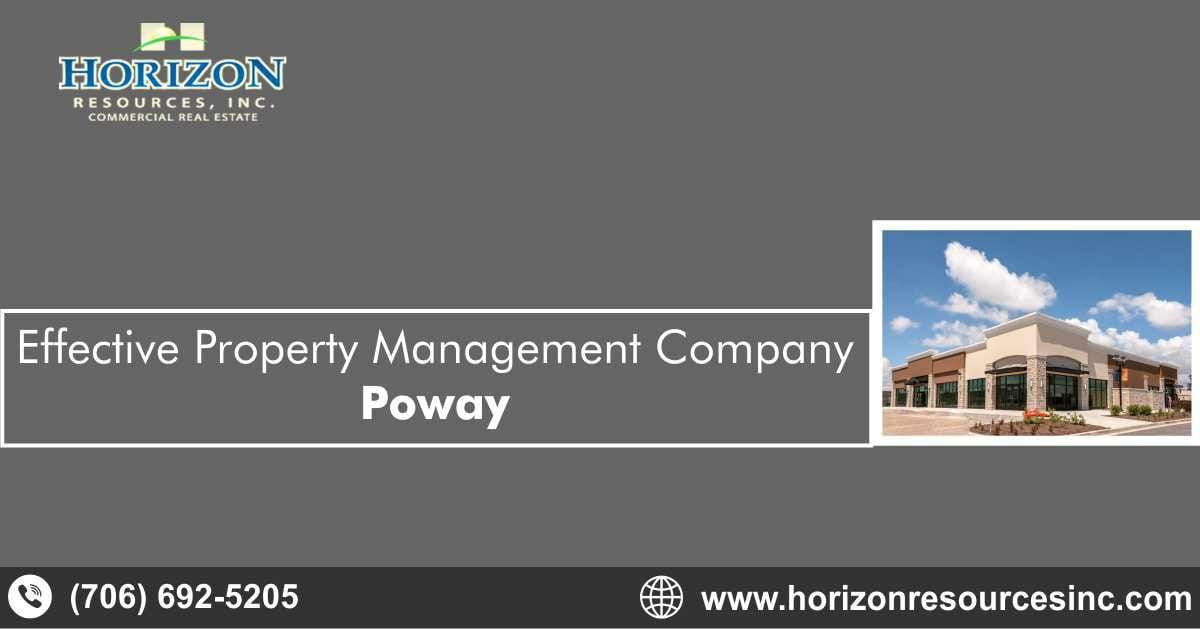 Effective Property Management Company Poway California Horizon Resources Inc Property Management Property Commercial Property