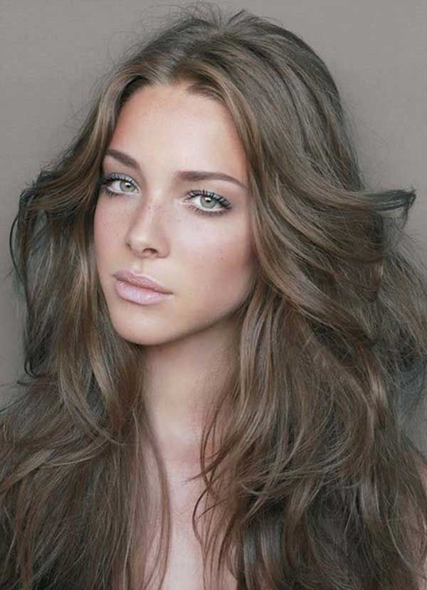 Bold Brunette Hair Colors For All Skin Tones Brunette Hair Color Mousy Brown Hair Ash Hair Color