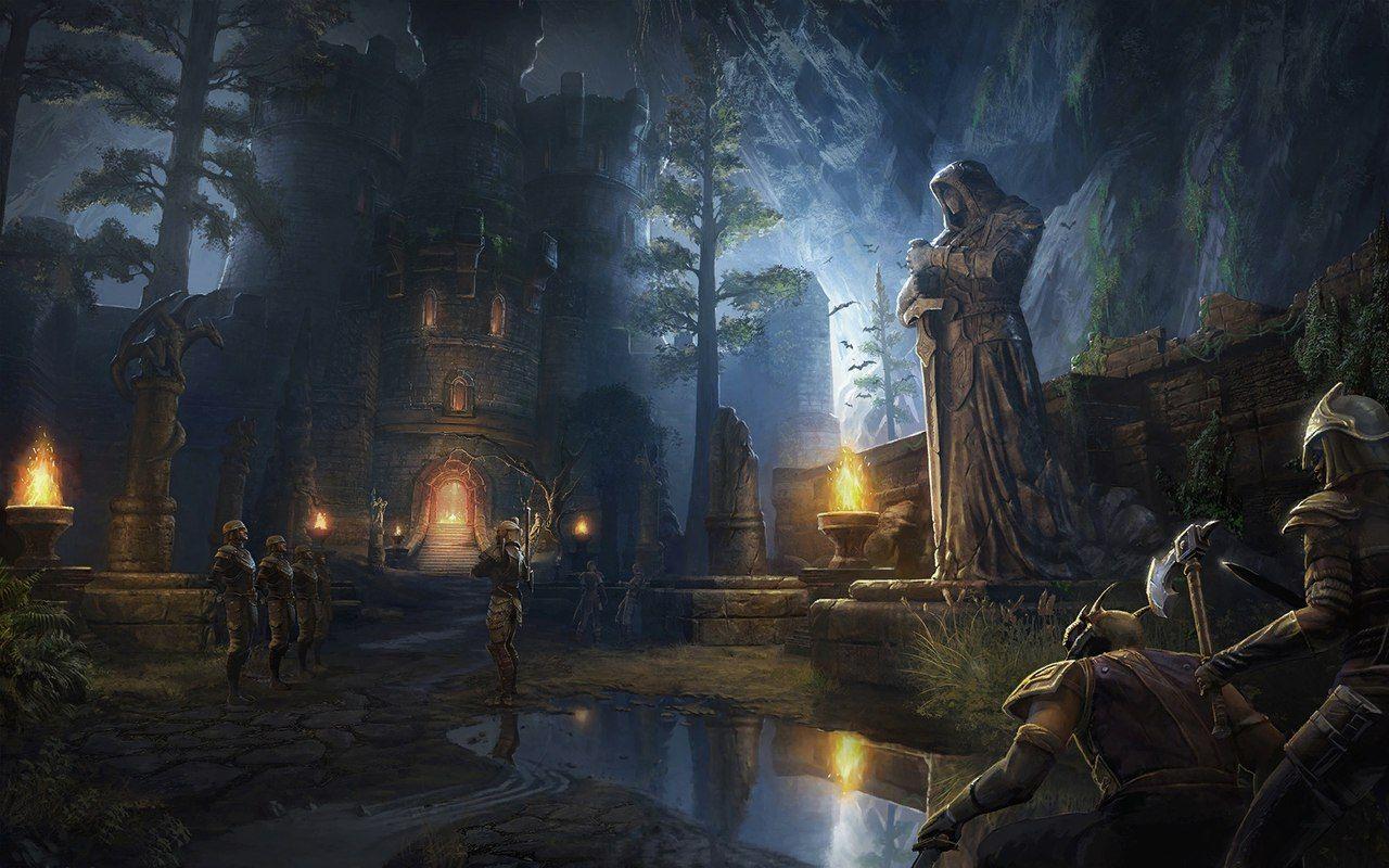 Tes Eso The Elder Scrolls Online Art Elder Scrolls Art Art Online Art