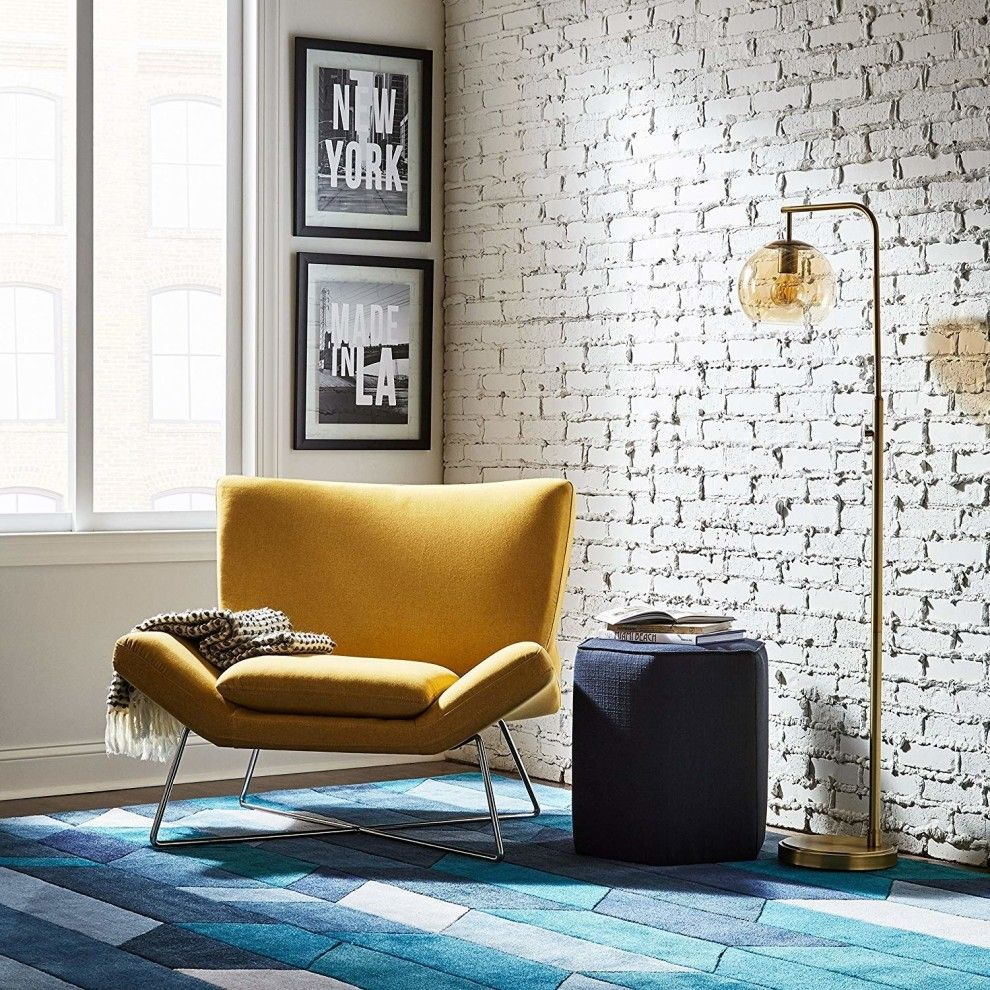 A canary yellow accent chair bold enough to make a statment in your space and plush enough to keep your keister comfortable when you sit on this all weekend (i.e. seasons one through three of Broadchurch) long. 33 Pieces Of Furniture From Amazon You'll Actually Want In Your Home