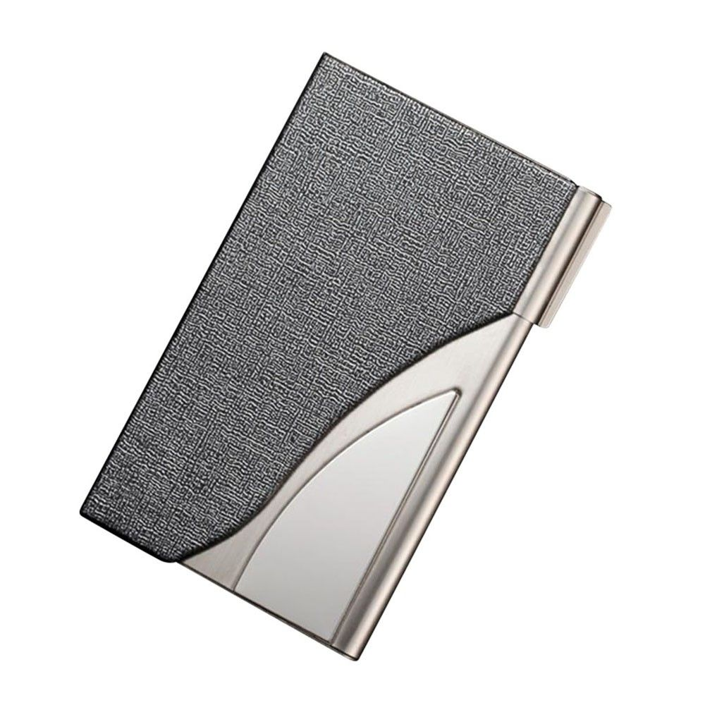 Business card holder men leather bank credit card package geomrtric business card holder men leather bank credit card package geomrtric metal business card case tarjetero para colourmoves