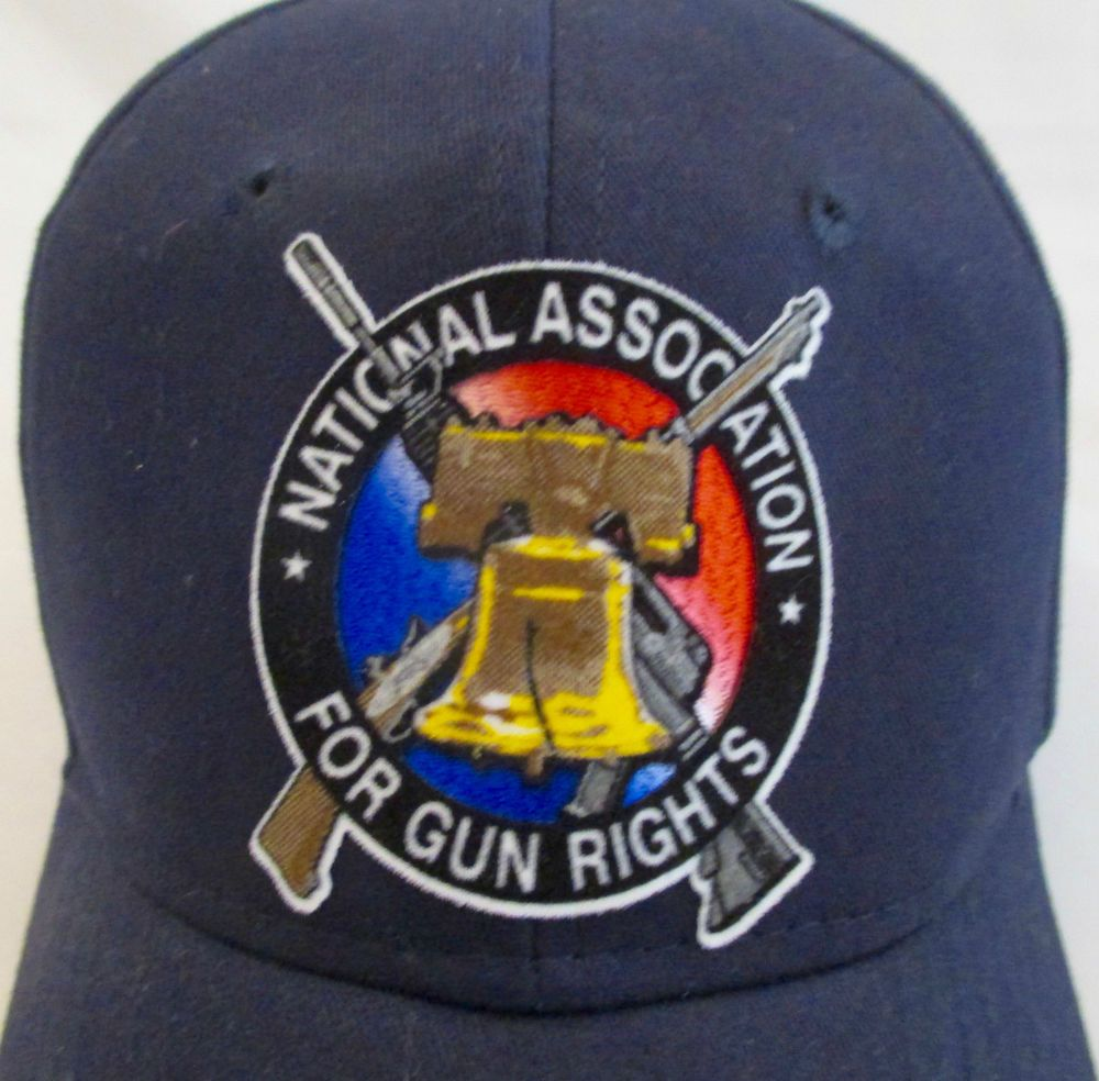 National Association for Gun Rights Hat Cap LIberty Bell Rifle Dark Blue New  #otto #BaseballCap