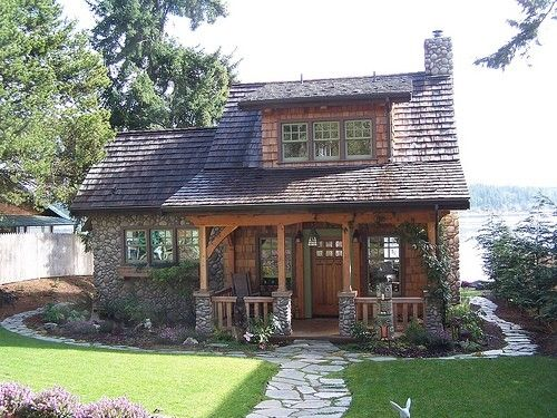 Not Really A Log Cabin Kind Of Lass But I Do Love The Combination Stone Wood Especially In This One Pictured Home Photos