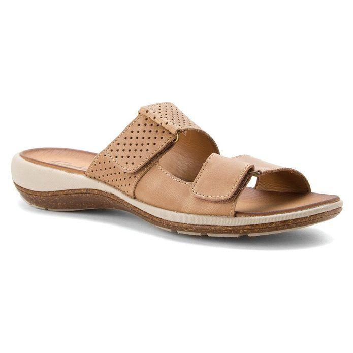 Amazon.com | Clarks Women's Taline Trim Casual Slide Sandal | Sandals