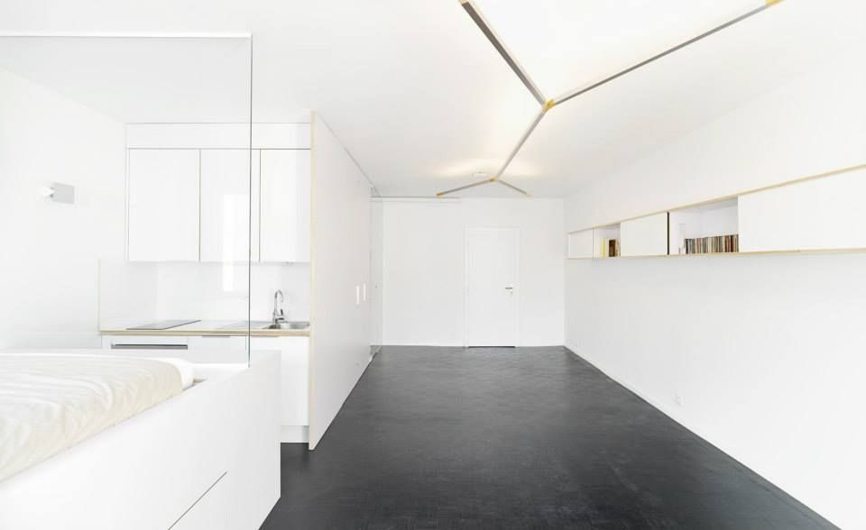 why small, white-walled, minimally decorated homes rock, Innedesign