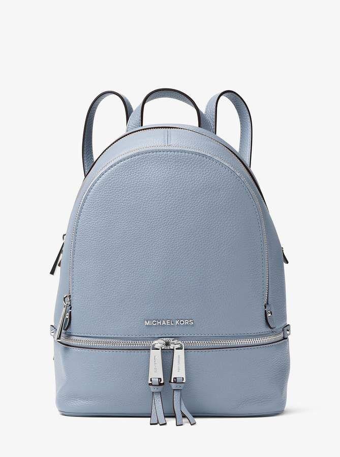 e53a720e9872 MICHAEL Michael Kors Rhea Medium Leather Backpack in 2019 ...
