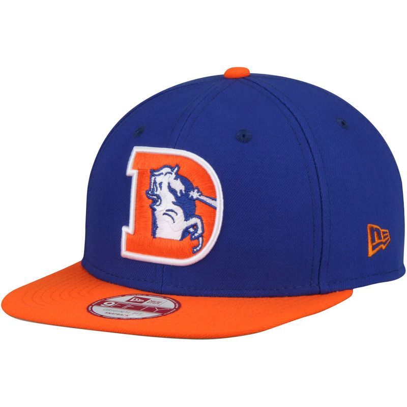 f119eaf37 Denver Broncos New Era Southside Snap Original Fit 9FIFTY Adjustable  Snapback Hat - Royal