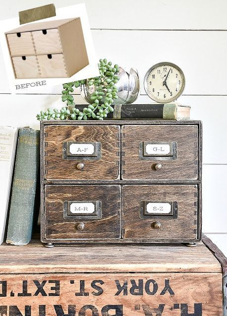 Photo of How to Make a Card Catalog From An IKEA Moppe