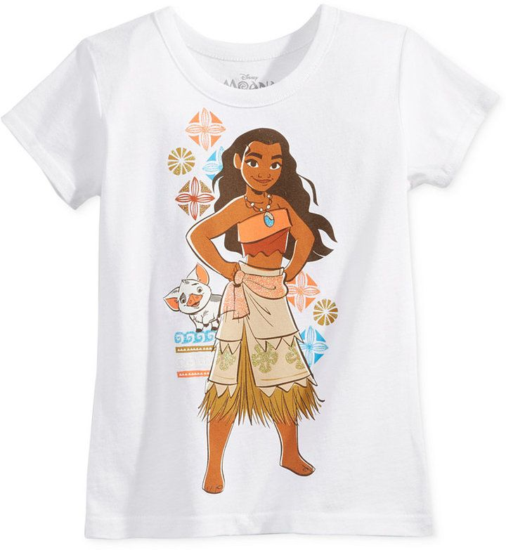 Disney Moana T-Shirt, Toddler Girls (2T-4T) & Little Girls