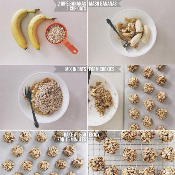 Oatmeal Banana Cookies -made these this morning added pecans and chocolate chips  very good :)
