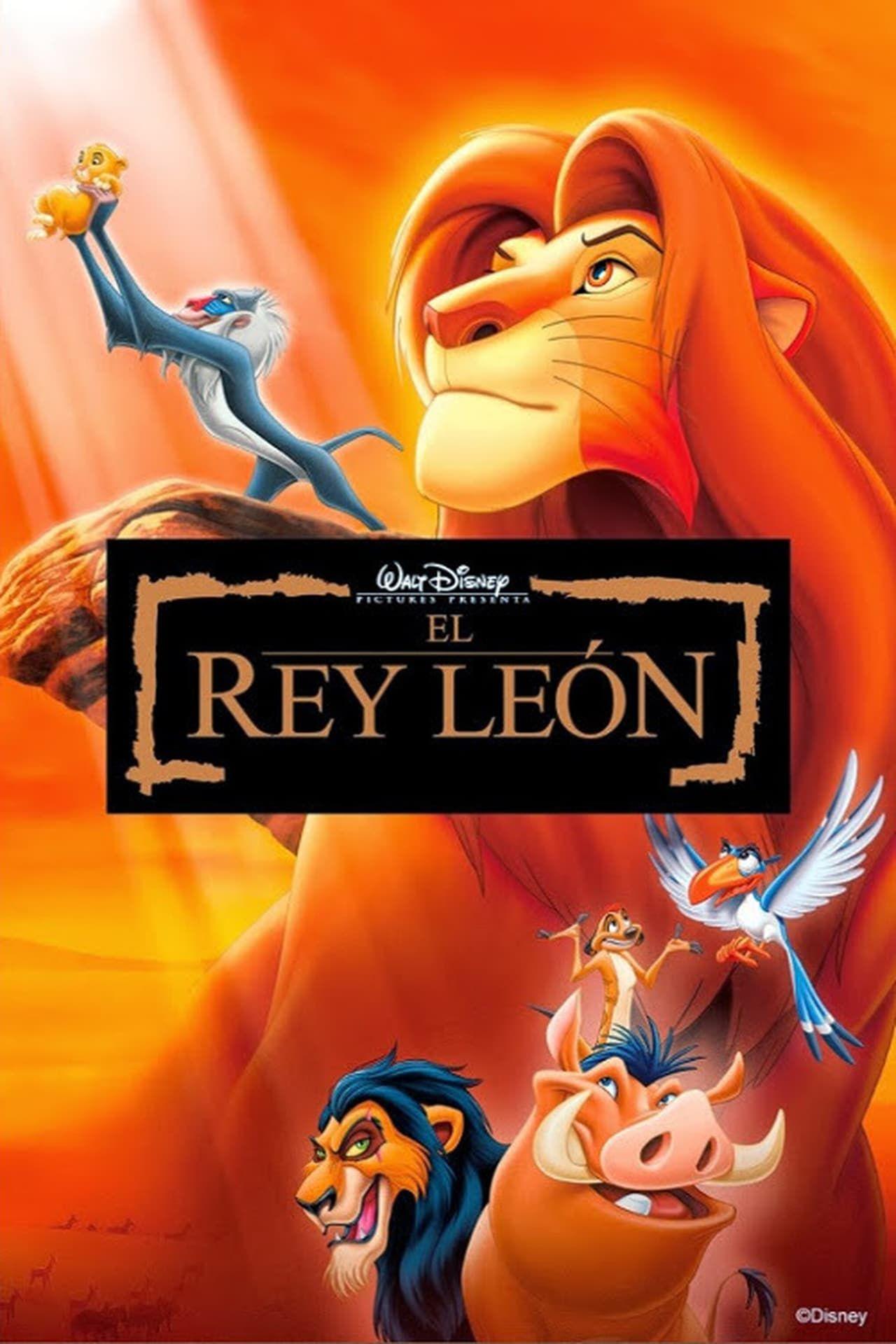 El Rey León The Lion King 1994 Peliculas Infantiles De Disney Peliculas De Disney El Rey Leon Pelicula