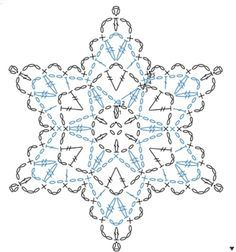 Learn how to read patterns crochet snowflakes chart and crochet crochet snowflake chart dt1010fo